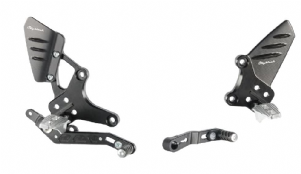 LighTech BMW Nine T Scrambler 2016> Adjustable Rearsets